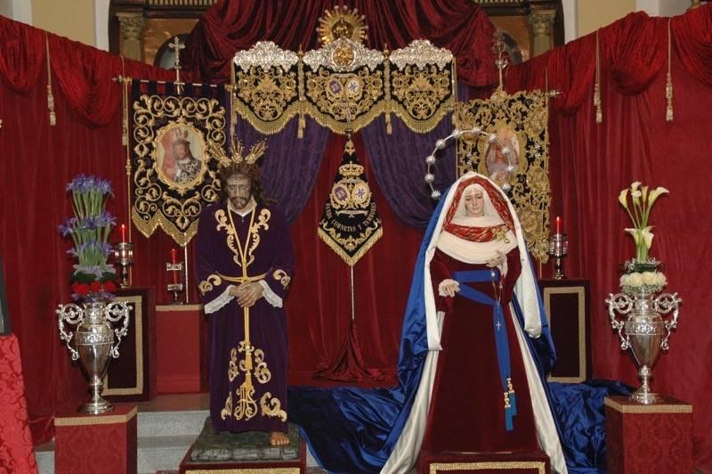 Besamanos Jesús Nazareno y Virgen de la Amargura