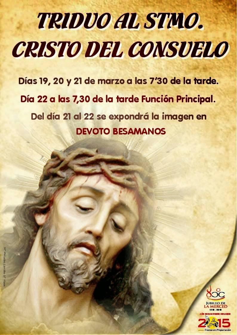 Triduo y besamanos del Cristo del Consuelo 1