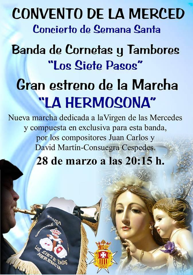 """Estreno de la marcha """"La Hermosona"""" 1"""
