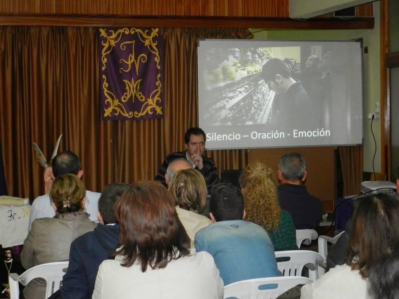 Charla cofrade a cargo de Óscar Casas