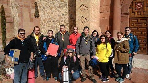 Equipos de la Federación de Scout Católicos de CLM tuvieron un encuentro de trabajo en Herencia 1