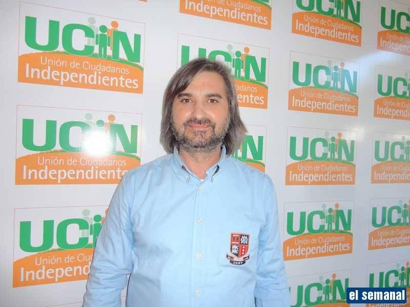 Francis López Escribano, candidato de UCIN a la Alcaldía de Herencia 1