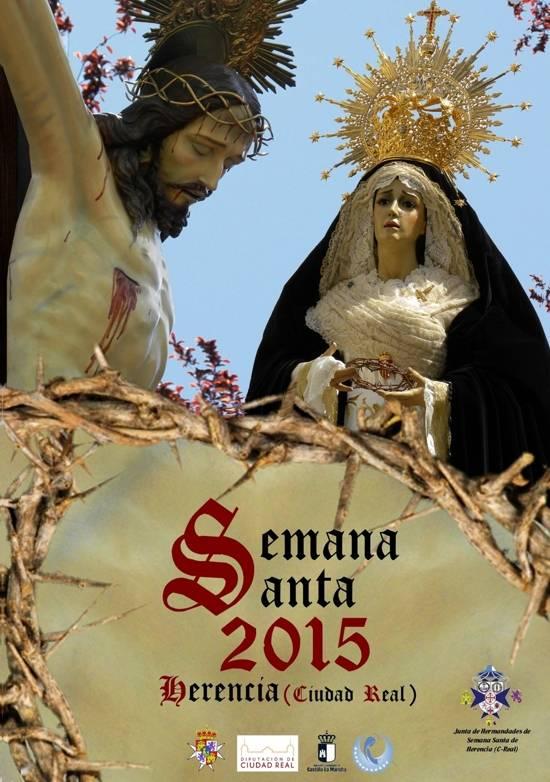 Herencia CARTEL SEMANA SANTA formato reducido g - Todo preparado para el comienzo de la Semana Santa en Herencia