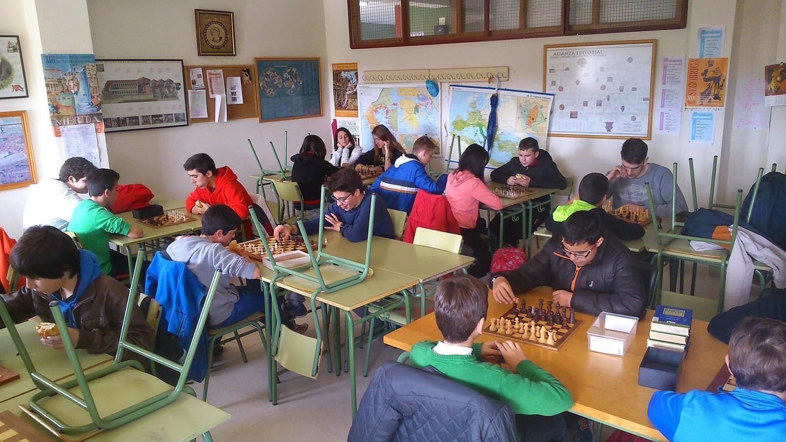 I Campeonato de ajedrez Anthropos - Ánthropos está organizando su I Campeonato de Ajedrez en el IES Hermógenes Rodríguez