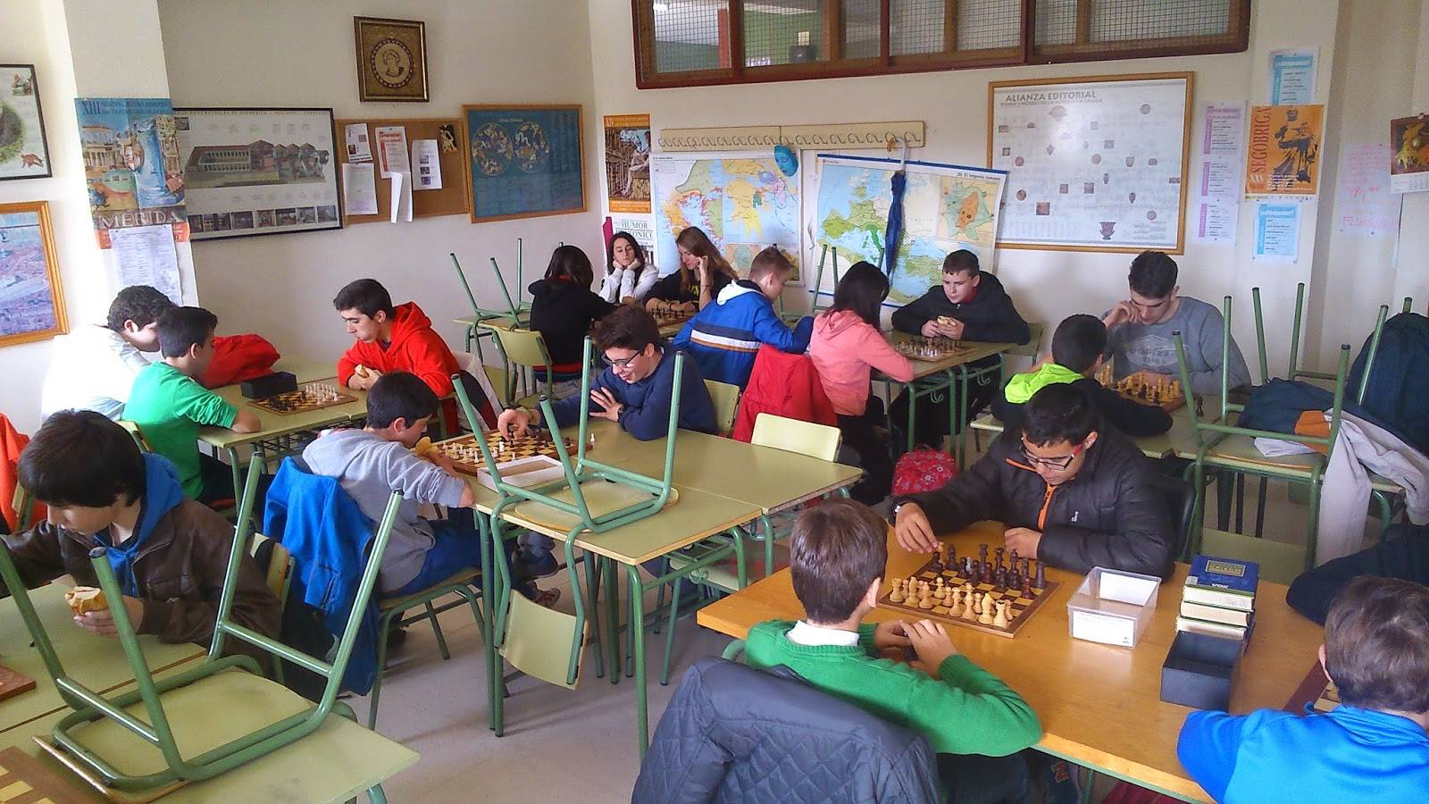 I Campeonato de ajedrez Anthropos