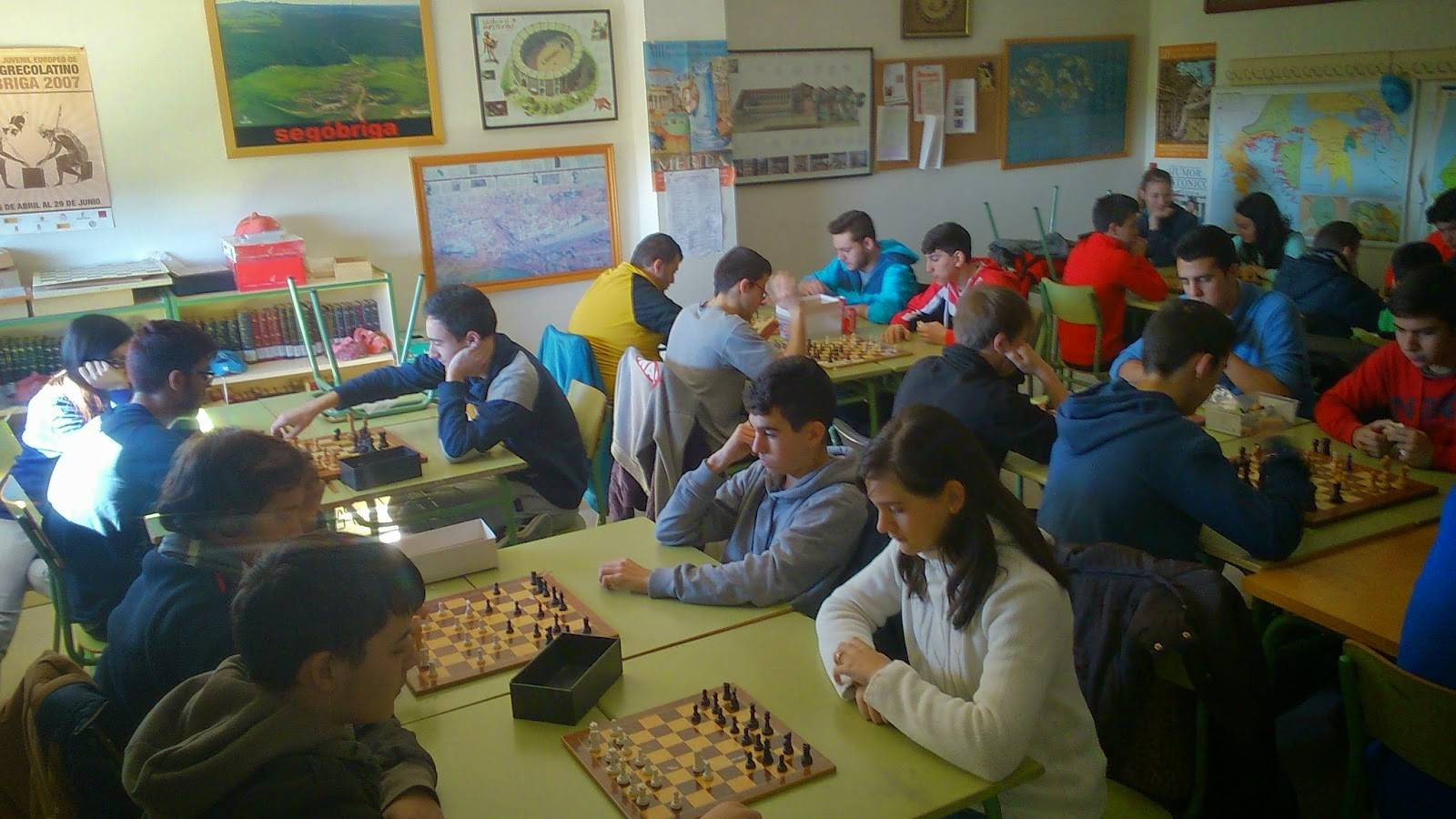 I Campeonato de ajedrez Anthropos1