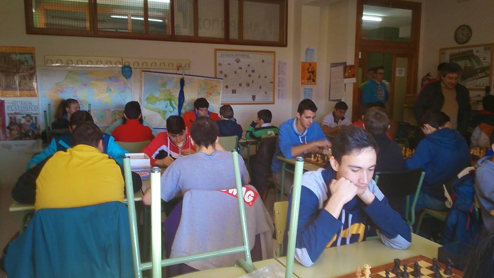 I Campeonato de ajedrez Anthropos2 - Ánthropos está organizando su I Campeonato de Ajedrez en el IES Hermógenes Rodríguez