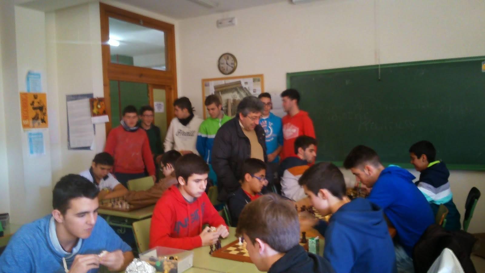 I Campeonato de ajedrez Anthropos3 - Ánthropos está organizando su I Campeonato de Ajedrez en el IES Hermógenes Rodríguez