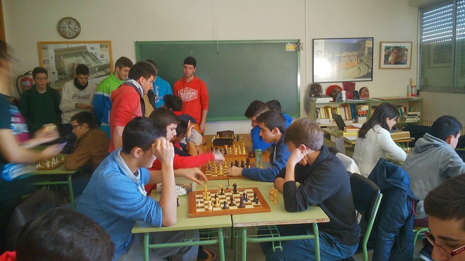 I Campeonato de ajedrez Anthropos4 - Ánthropos está organizando su I Campeonato de Ajedrez en el IES Hermógenes Rodríguez