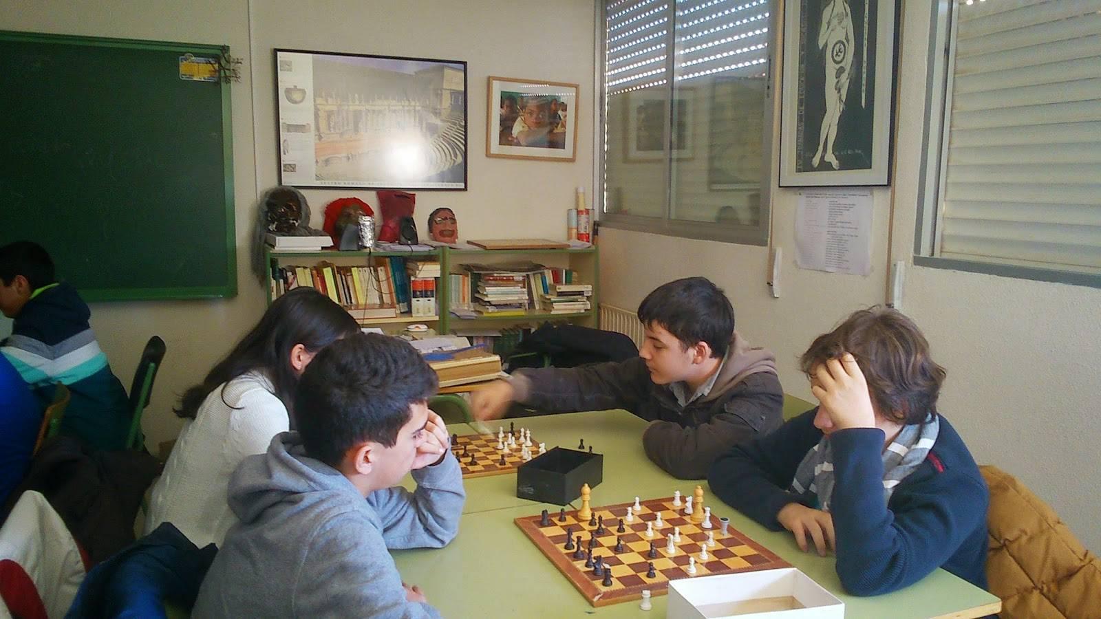 I Campeonato de ajedrez Anthropos5 - Ánthropos está organizando su I Campeonato de Ajedrez en el IES Hermógenes Rodríguez
