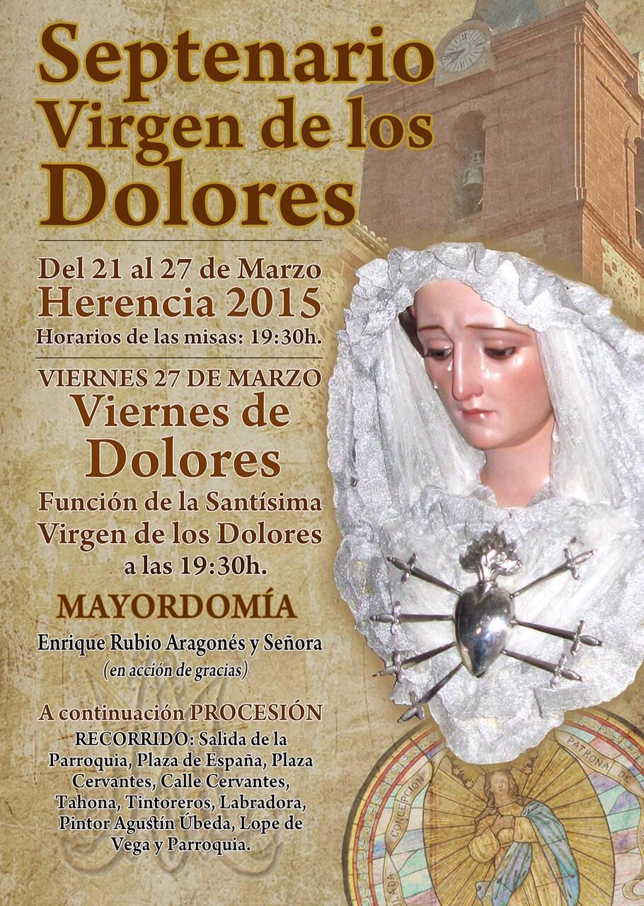 IMG 20150314 WA0049 - Septenario y procesión de la Virgen de los Dolores