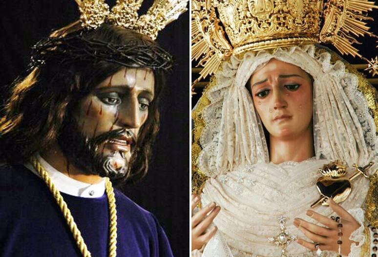 Jesús Nazareno y Virgen de la Amargura de Herencia - IV Semana Cofrade de Los Moraos de Herencia