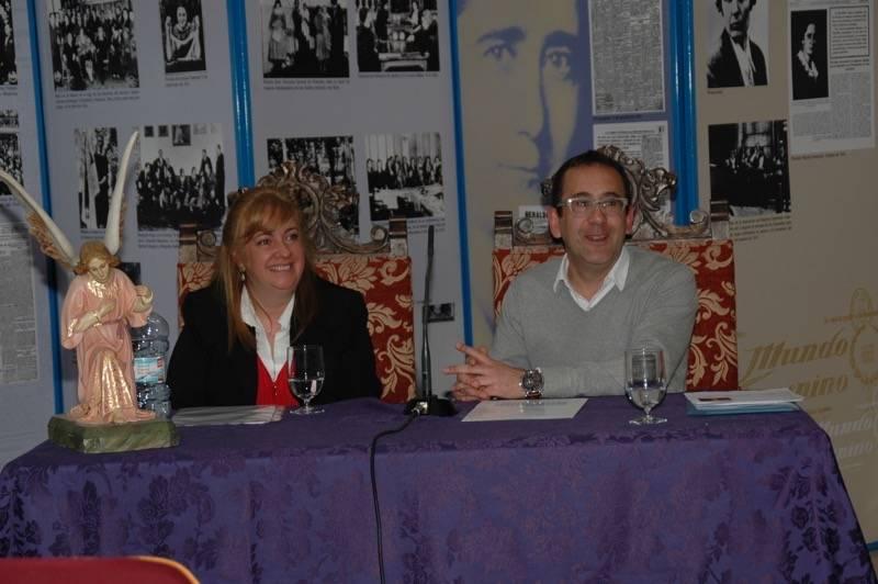 Soledad Franch y Enrique Rodríguez de Tembleque - Soledad Franch y Enrique Rodríguez pusieron en valor la conservación del Patrimonio en las Hermandades