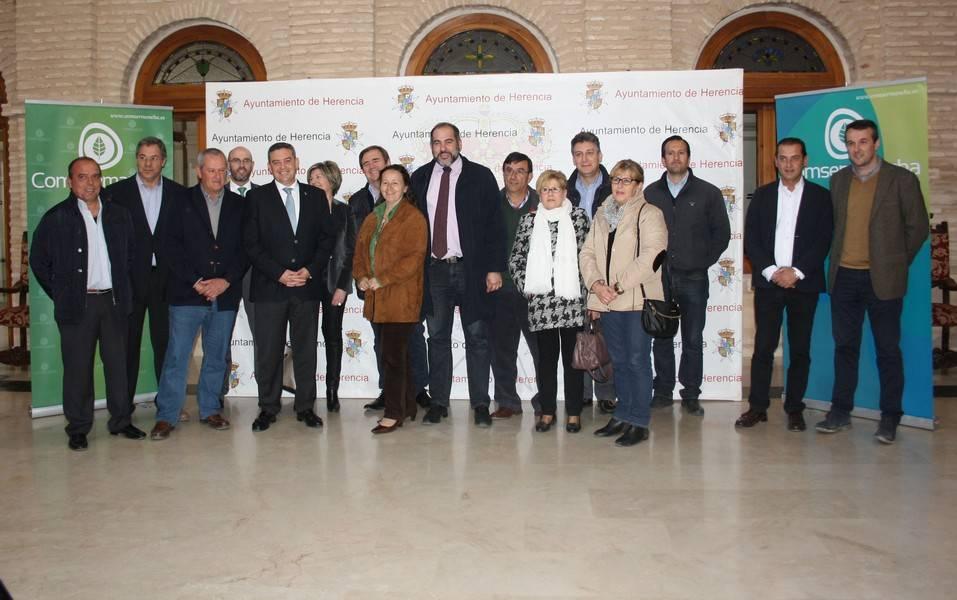 Inaugurada en Herencia la Planta de tratamiento de residuos de construcción y demolición de la Mancomunidad de Comsermancha 1