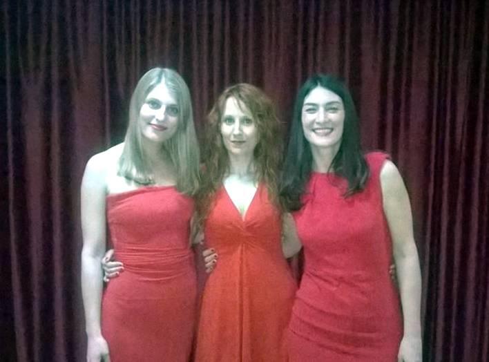 herencia mujeres al rojo vivo 2 - Herencia celebró el Día Internacional de la Mujer