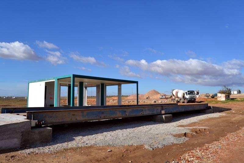 herencia planta rcds comsermancha en obras 2 - Inauguración del Centro para la Gestión de Residuos de Construcción y Demolición del área de Herencia