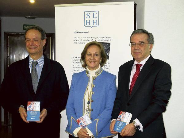 José María Moraleda preocupado por la escasa visibilidad de la hematología 1