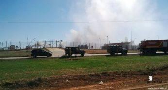 intervencion de la UME en la planta de gas de Alcazar (12)
