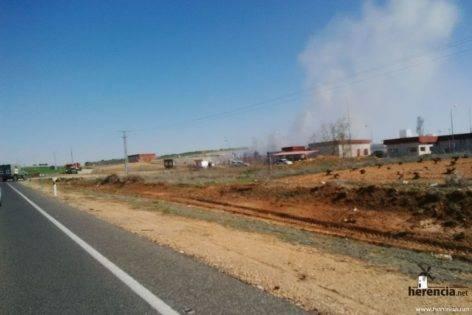 intervencion de la UME en la planta de gas de Alcazar (2)