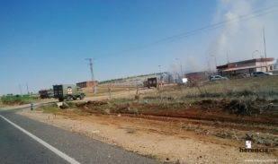 intervencion de la UME en la planta de gas de Alcazar (3)