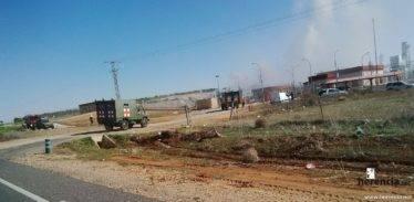 intervencion de la UME en la planta de gas de Alcazar (4)