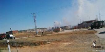 intervencion de la UME en la planta de gas de Alcazar (6)