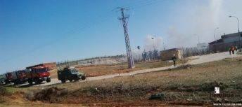 intervencion de la UME en la planta de gas de Alcazar (7)