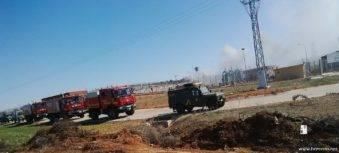 intervencion de la UME en la planta de gas de Alcazar (8)