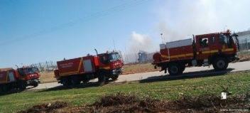 intervencion de la UME en la planta de gas de Alcazar (9)