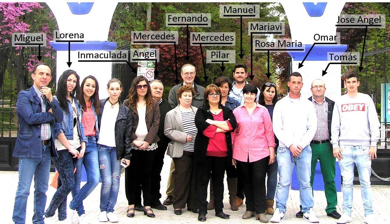 Agrupacion Electoral de Vecinos de Herencia AEDVH - Publicadas las candidaturas para las próximas elecciones de mayo 2015