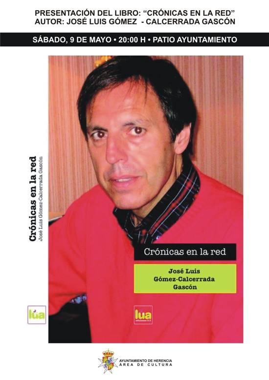 HERENCIA cartel Libro Gomez calcerrada g - Jose Luis Gómez-Calcerrada presenta su último libro en Herencia