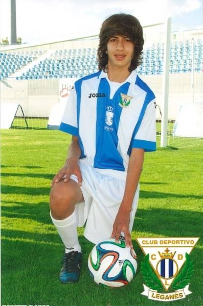 El herenciano Jhonier Germán Vargas triunfa en el CD Leganés 1