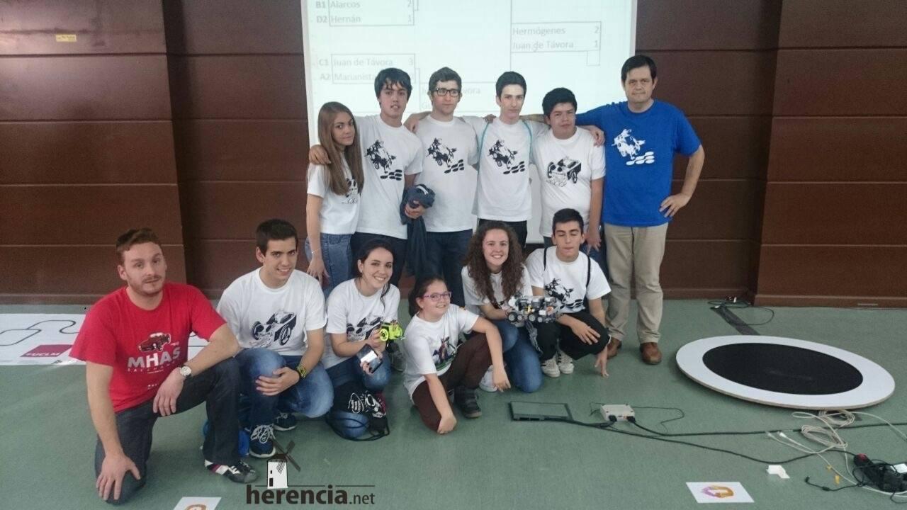 equipo robotica ies hermogenes rodriguez herencia 1 - Éxito de los equipos de robótica del IES Hermógenes Rodríguez