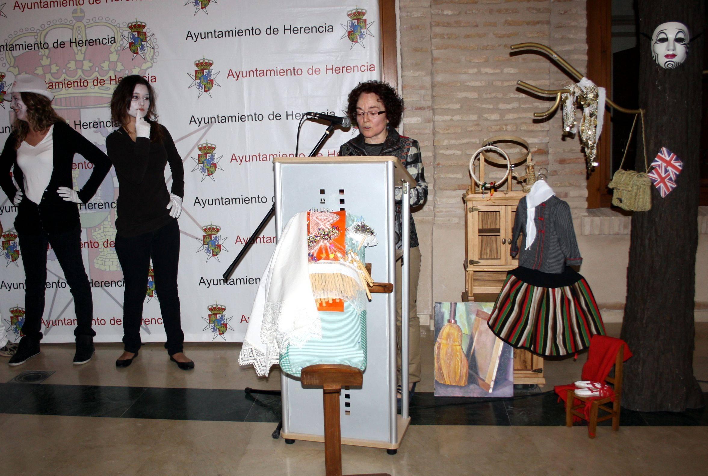 Carmen Gómez, directora de la Universidad Popular de Herencia