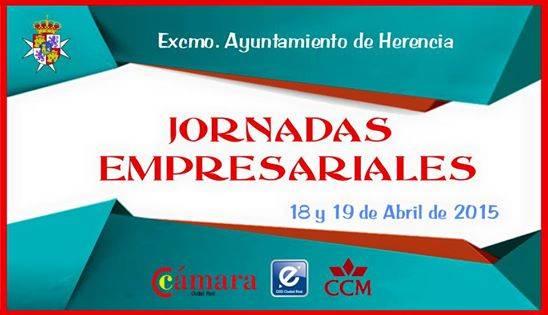 El Ayuntamiento de Herencia y la Cámara de Comercio organizarán las Jornadas Empresariales los días 18 y 19 de abril 1
