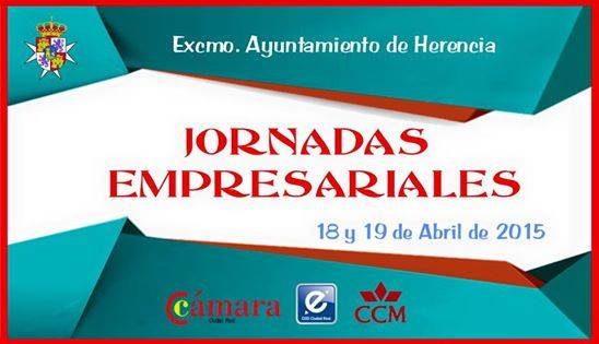 jornadas emprendimiento2 - El Ayuntamiento de Herencia y la Cámara de Comercio organizarán las Jornadas Empresariales los días 18 y 19 de abril