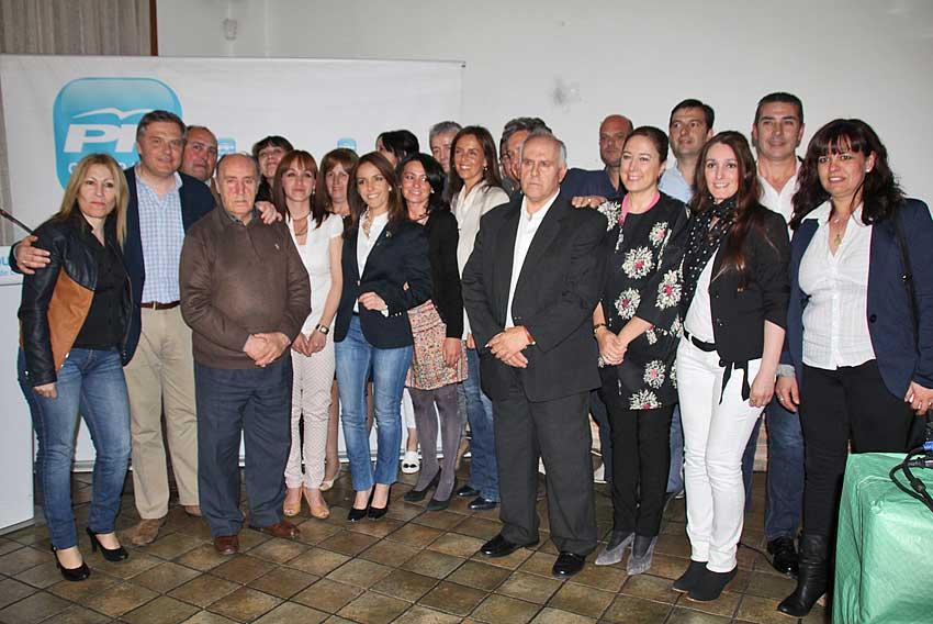 partido popular herencia pp - Publicadas las candidaturas para las próximas elecciones de mayo 2015