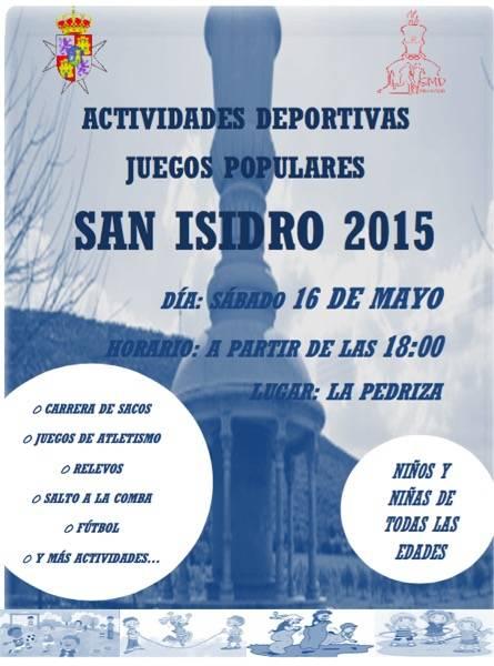 Actividades Deportivas Romería San Isidro 2015