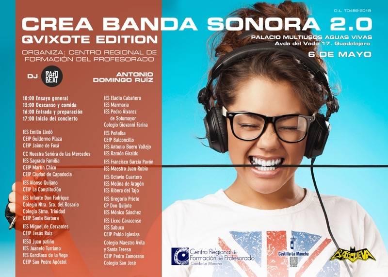 """BandaSonora2015 verdadero - Ana María Jiménez Tajuelo participa en el proyecto """"Crea La Banda Sonora de Tu Vida 2.0"""""""
