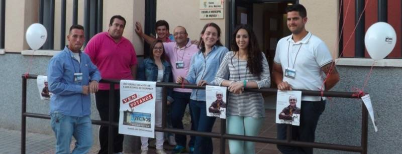 Cierre de Campaña AEdVH 1 - La AEdVH finaliza su campaña con un mitin