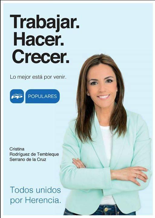 Cristina Rodriguez de Tembleque - El Partido Popular de Herencia expone su programa en ImasTv