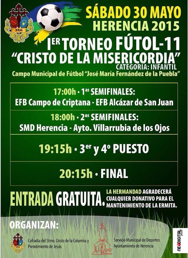 """Primer torneo de fútbol 11 """"Cristo de la Misericordia"""" 1"""