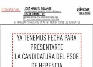 Presentacion candidatura PSOE