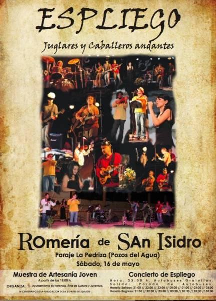 Romeria San Isidro 2015 - Romería de San Isidro 2015 en Herencia