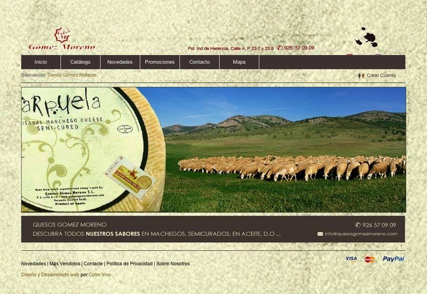 Tienda de Quesos   Cheese Shop comprar quesos   buy cheese gomez moreno carpuela - Quesos Gómez Moreno premiados de nuevo en el concurso Gran Selección
