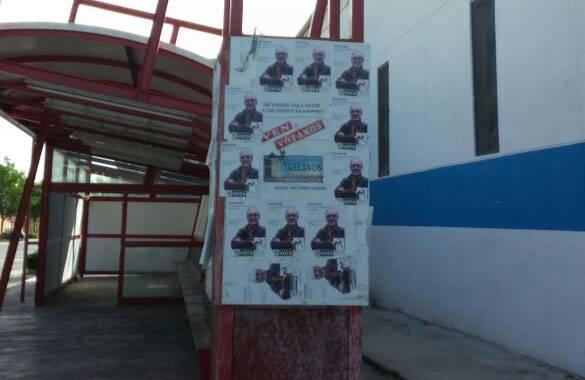 fotografia carteles elecciones herencia 3 - La Agrupación Electoral de Vecinos de Herencia no gana ninguna demanda contra el PP
