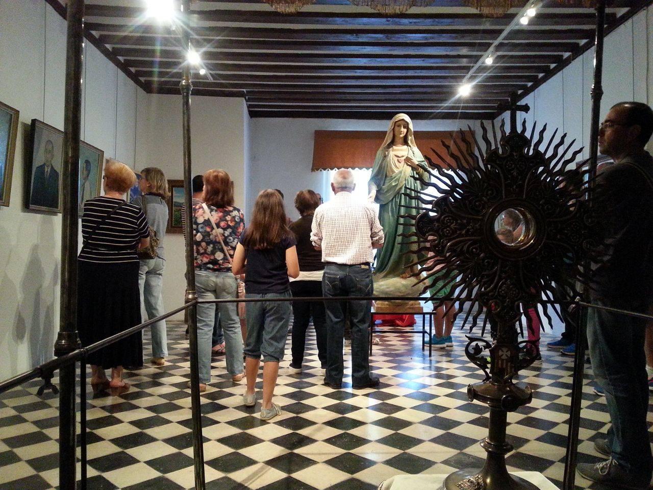 visita casa museo de la merced de herencia 16 05 2015 33 - Visita a la casa-museo de La Merced para conmemorar el Día Internacional de los Museos
