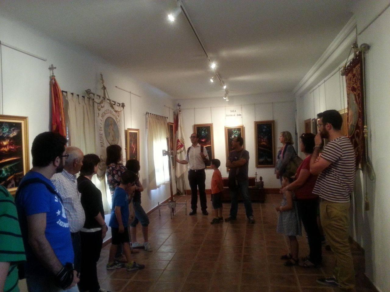 visita casa museo de la merced de herencia 16 05 2015 6 - Visita a la casa-museo de La Merced para conmemorar el Día Internacional de los Museos