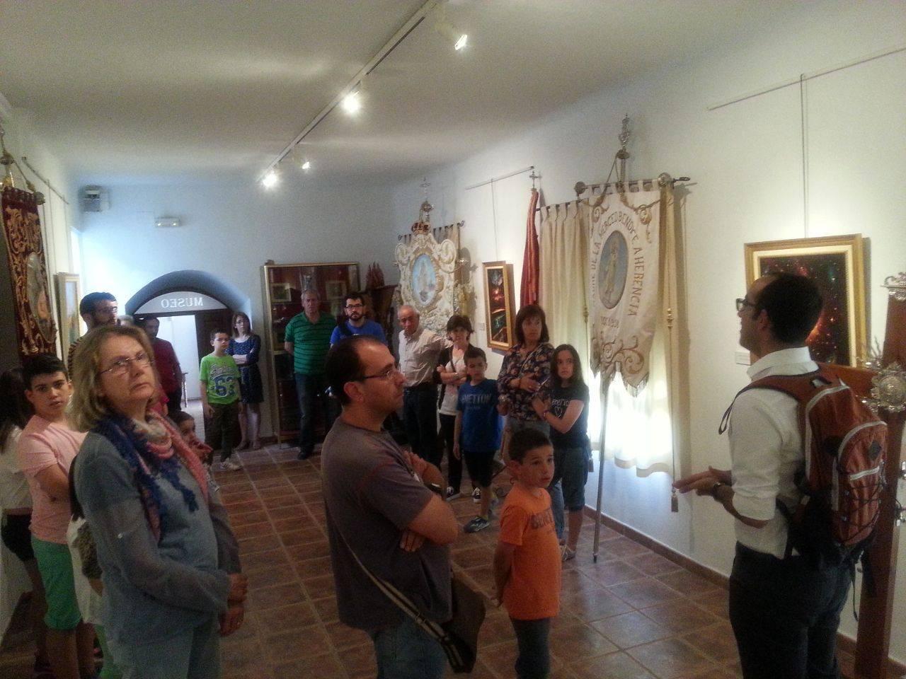 visita casa museo de la merced de herencia 16 05 2015 8 - Visita a la casa-museo de La Merced para conmemorar el Día Internacional de los Museos
