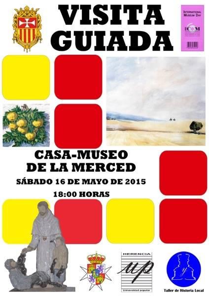 visita casa museo de la merced dia internacional de los museos 2015 1 - Visita guiada a la Casa-Museo de La Merced